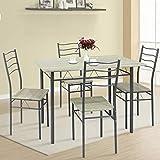 conjuntos de mesas y sillas de comedor mejor valorados