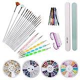 comparativa de kits de uñas para niñas