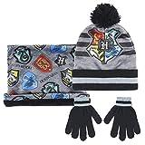 conjuntos de gorro bufanda y guantes para niños en oferta