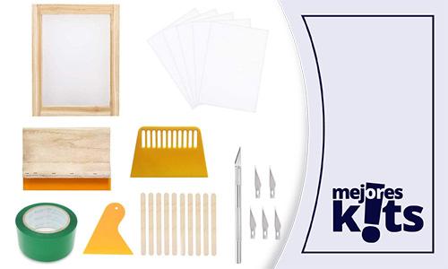 Los Mejores Kits De Serigrafía Casera - Comparativa, Análisis y Ranking Calidad-Precio